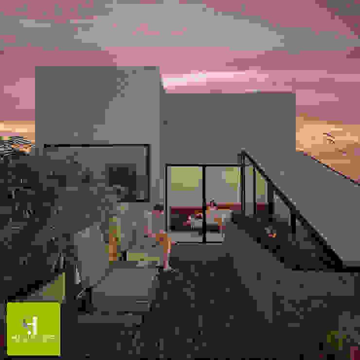 Terrace by Helicoide Estudio de Arquitectura