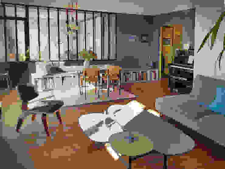 Créateurs d'Interieur Industrial style living room
