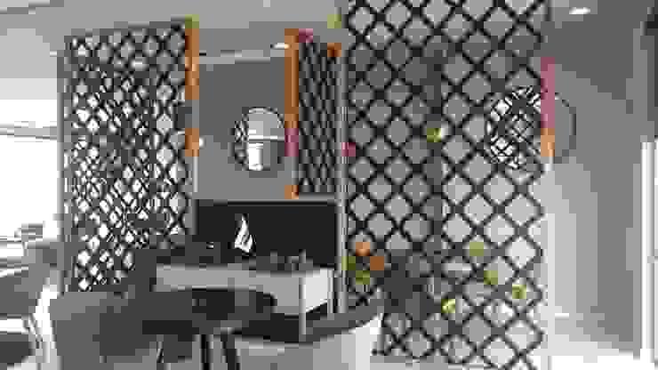 Celosías para centro de Negocios, Tlalnepantla Hoteles de estilo moderno de UKU celosias Moderno Tablero DM