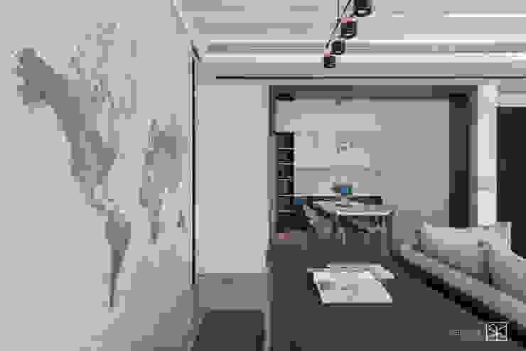 地圖壁紙 根據 禾廊室內設計 現代風