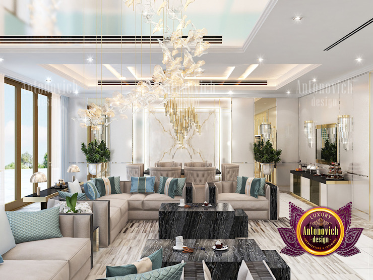 Amazing Interior Design Services in UAE by Luxury Antonovich Design