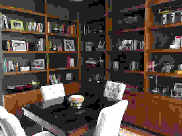 librero Idea Naranja Estudios y despachos modernos