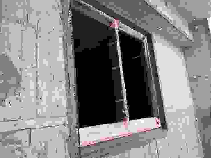 窗框填縫及防水施作: 亞洲  by 讚基營造有限公司, 日式風、東方風