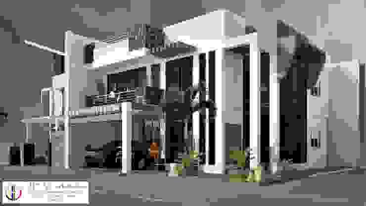 2 storey residential building with roofdeck by JEV Arkiteks