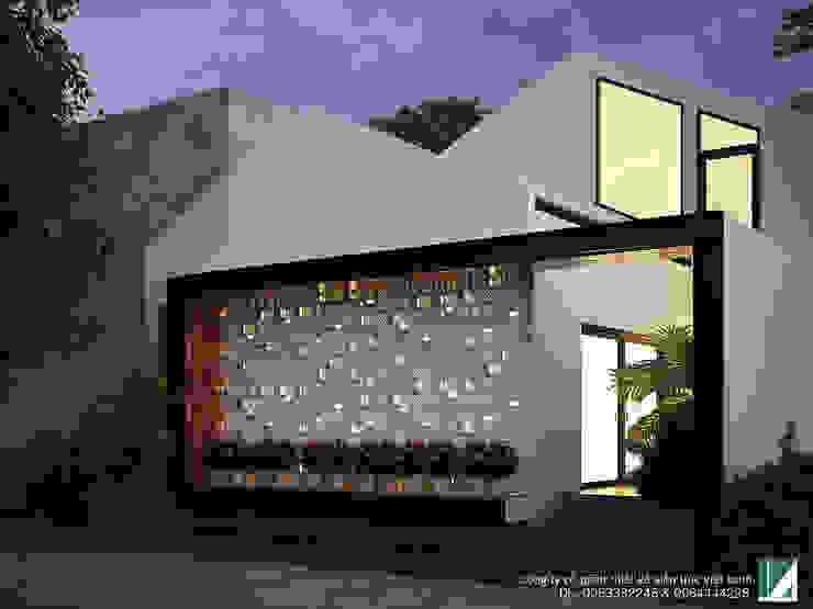 NHÀ BIÊT THỰ 1 TẦNG bởi Kiến trúc Việt Xanh