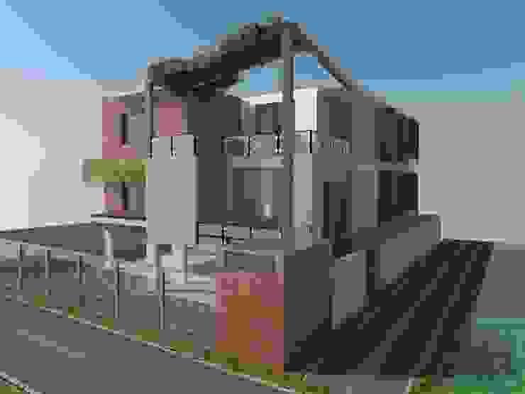 Mr.Madhu Maddi residence by The Yellow Ink Studio Asian