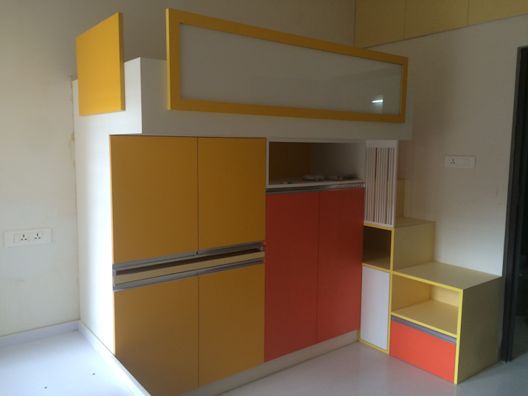 Mr. Anantakrishnan's residence Modern nursery/kids room by The Yellow Ink Studio Modern