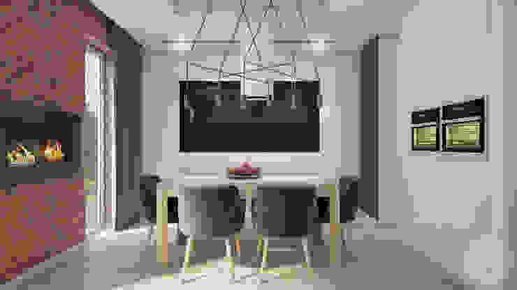 Moderne Esszimmer von Nevi Studio Modern