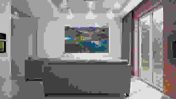Moderne Wohnzimmer von Nevi Studio Modern