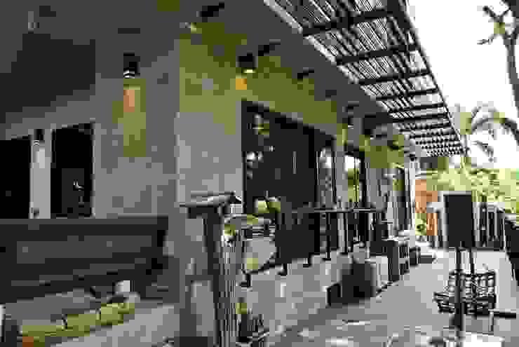 Industrial  Loft Style ( ต่อเติม-ตกแต่งภายใน ): ด้านอุตสาหกรรม  โดย Nourish House, อินดัสเตรียล
