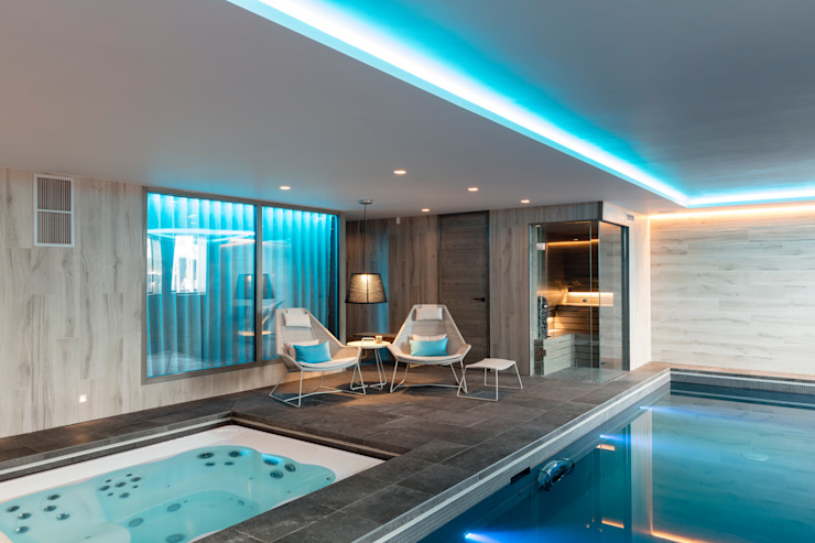 Family Home by WN Interiors Modern Spa by WN Interiors Modern