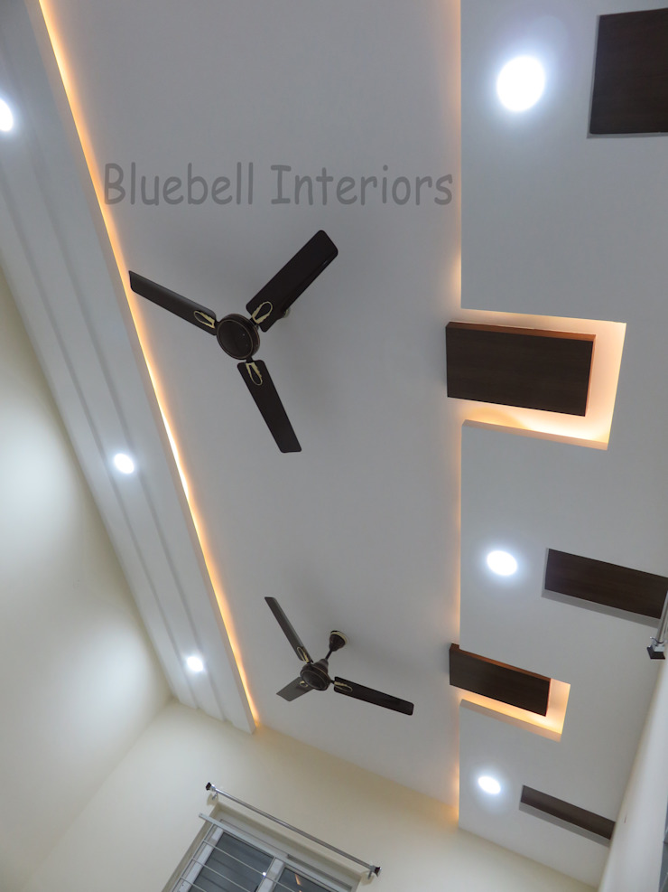 ceiling design by Bluebell Interiors Classic