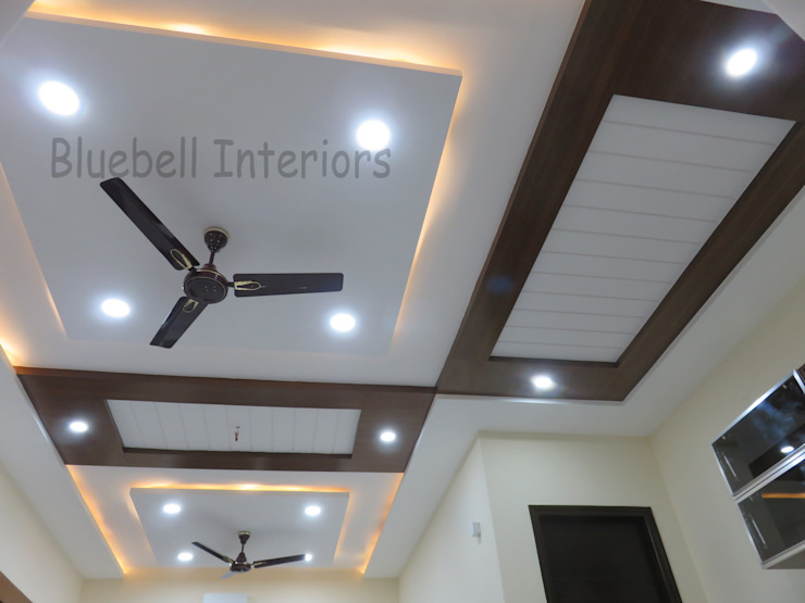wooden ceiling by Bluebell Interiors Classic
