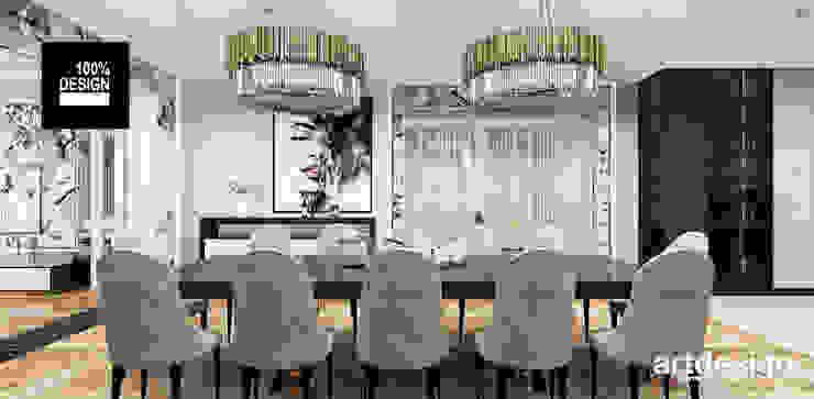luksusowa aranżacja jadalni Klasyczna jadalnia od ARTDESIGN architektura wnętrz Klasyczny