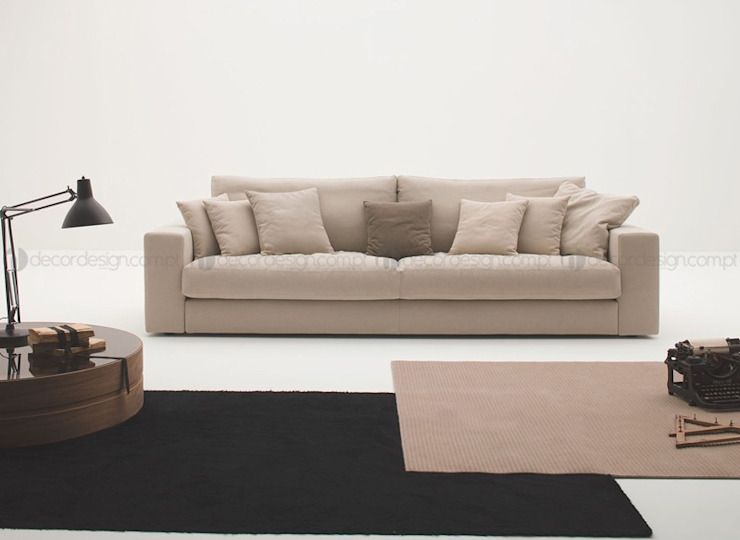 Decordesign Interiores Living roomSofas & armchairs Textile Beige