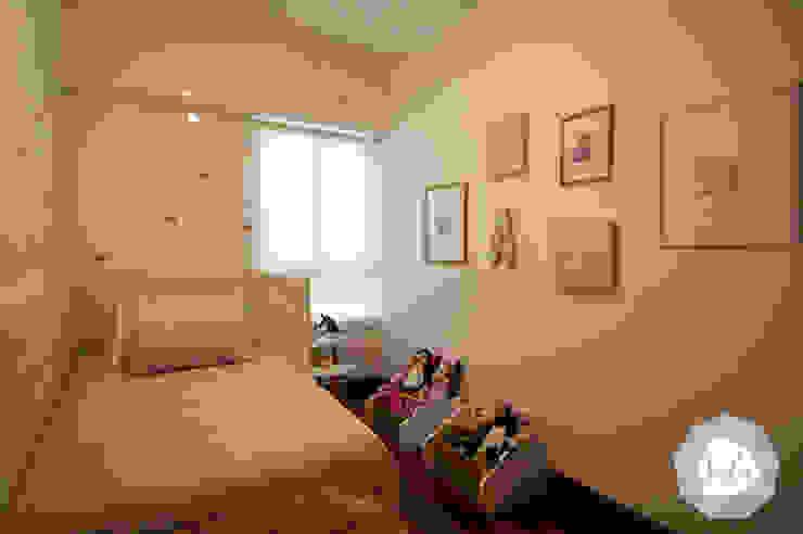 Dormitorio infantil en San Isidro de ALUA - Arquitectura de Interiores Moderno