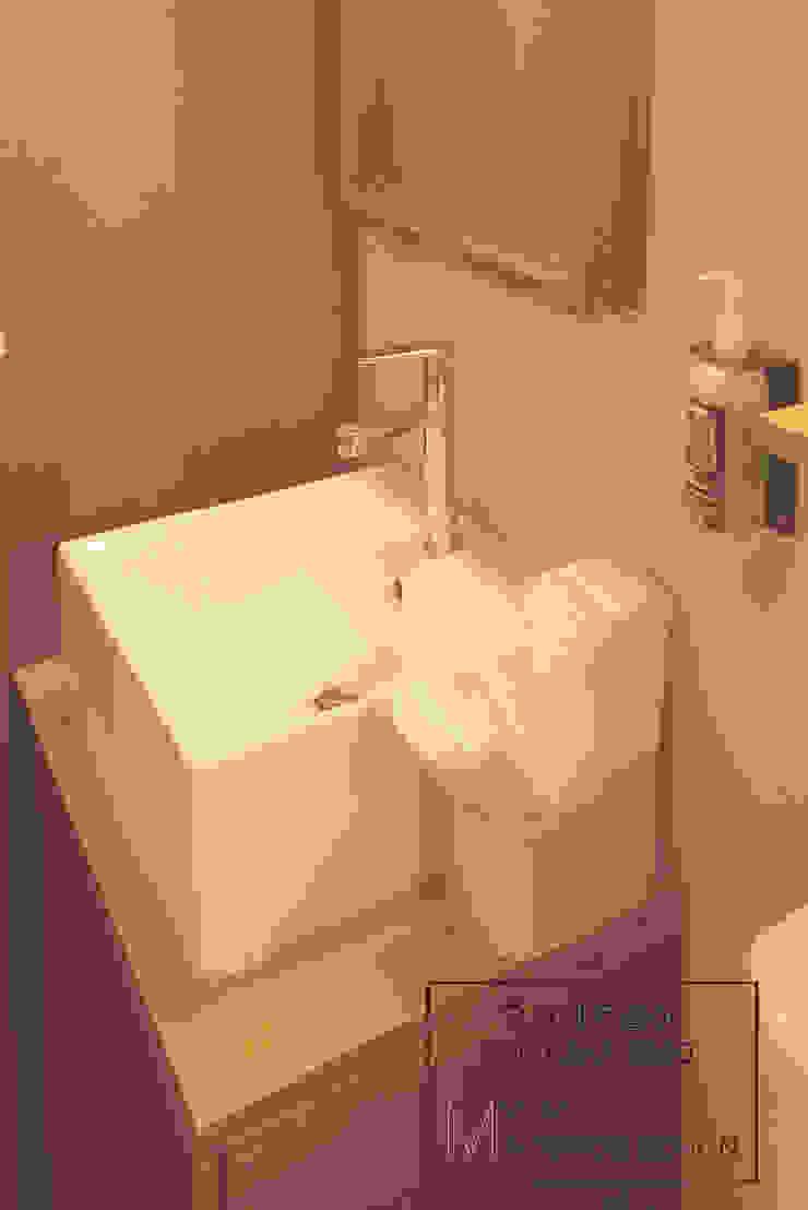 화장실 러스틱스타일 욕실 by 디자인모리 러스틱 (Rustic)