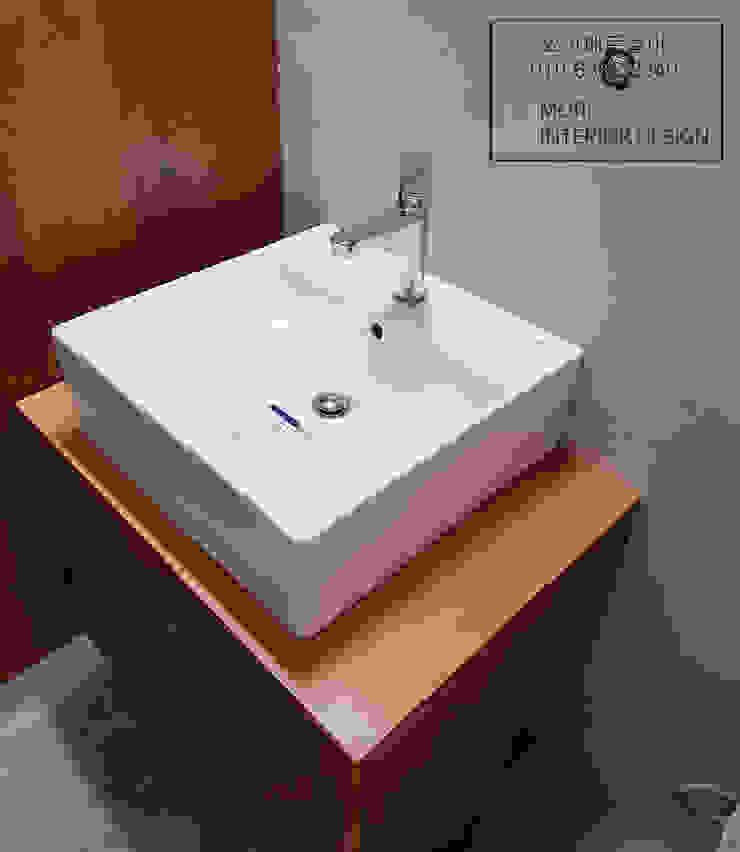 화장실하부장 러스틱스타일 욕실 by 디자인모리 러스틱 (Rustic)