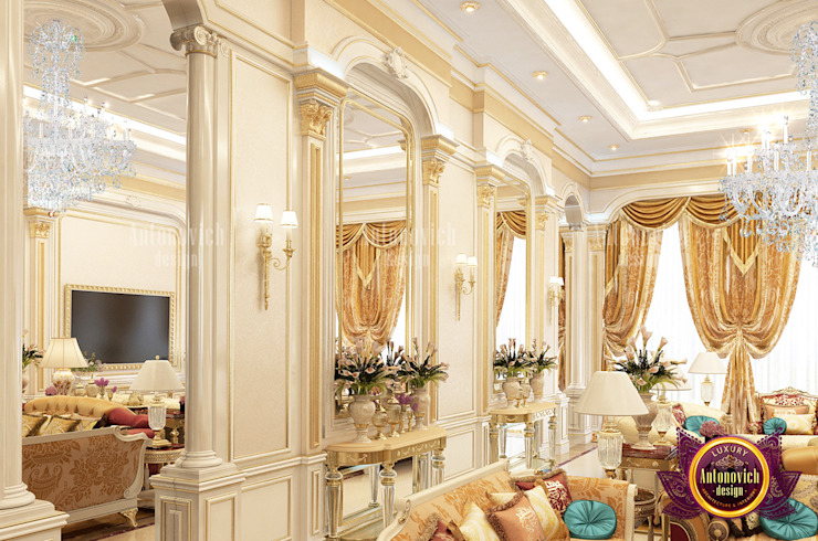 Lovely Hall Exclusive Design by Luxury Antonovich Design