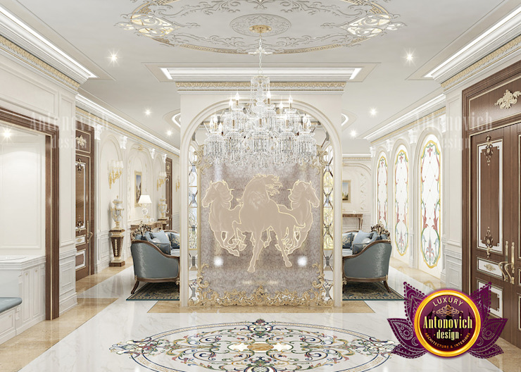 Huge Types of Decor Elements for Interior by Luxury Antonovich Design