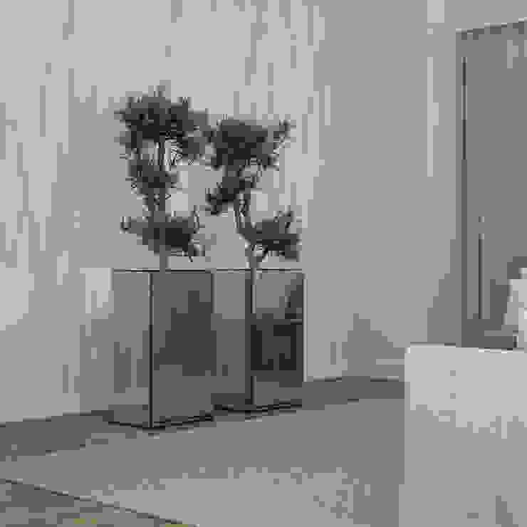 Decordesign Interiores Corridor, hallway & stairsAccessories & decoration Chipboard Metallic/Silver