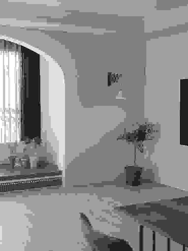 봇들마을 아파트 인테리어 모던스타일 거실 by 프라디자인 모던