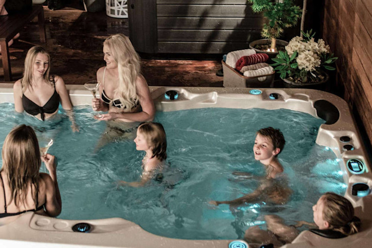 SPA Deluxe GmbH - Whirlpools in Senden Modern Garden
