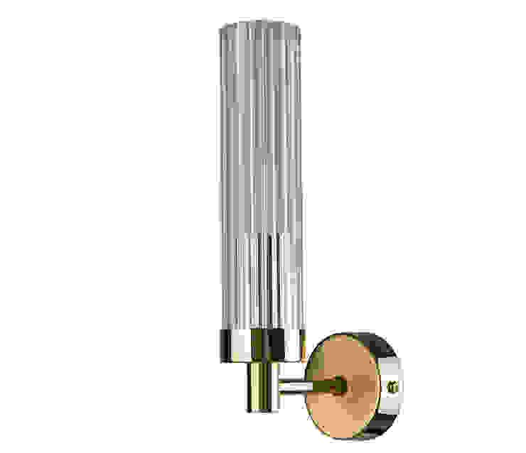 Wall Light SETI Gold Finishes 根據 Luxury Chandelier 古典風