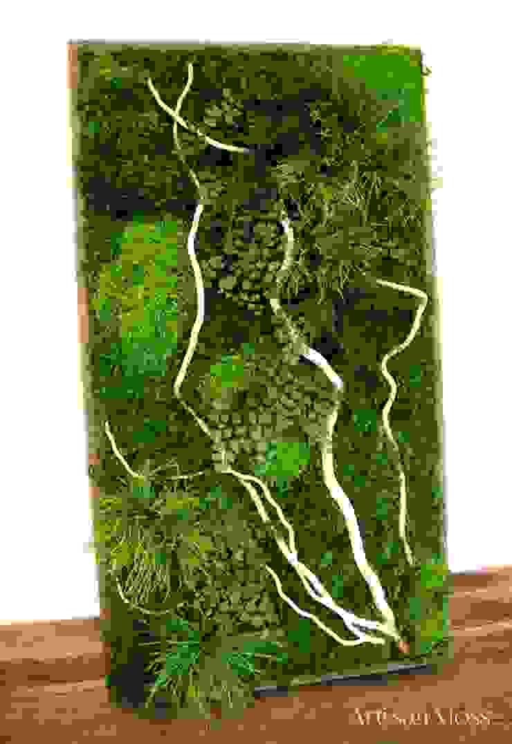 Thi công tường Rêu Nội Thất bởi Công Ty TNHH XD Cảnh Quan Vườn Nhà Đẹp Châu Á