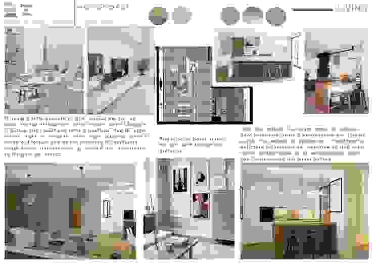 Scandinavian style living room by Design for Love Scandinavian
