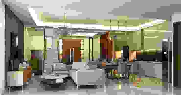 Ruang Keluarga Oleh Emporio Architect