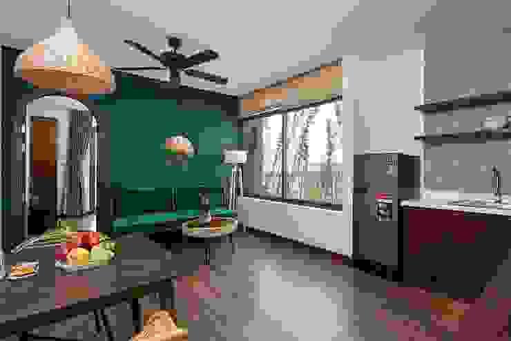 Căn hộ cho thuê _ Tropical house Nhà phong cách nhiệt đới bởi công ty cổ phần kiến trúc - nội thât L & W Nhiệt đới