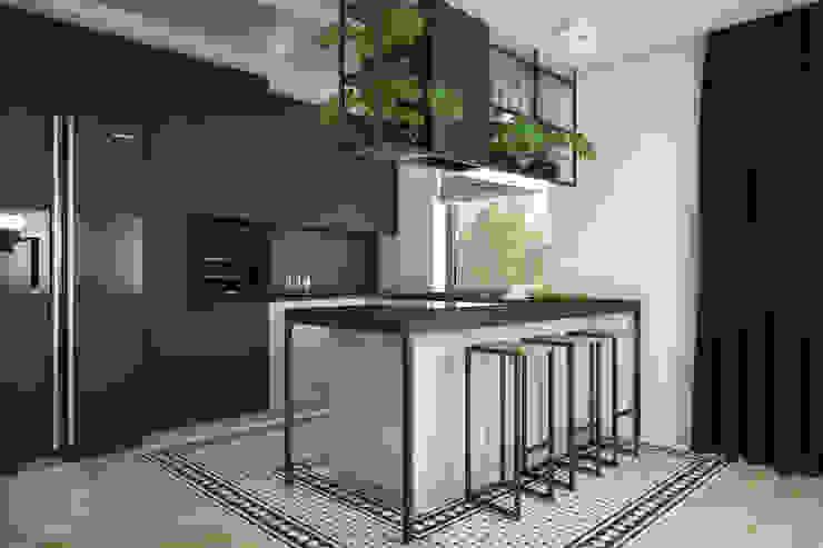 Industriale Küchen von Nevi Studio Industrial