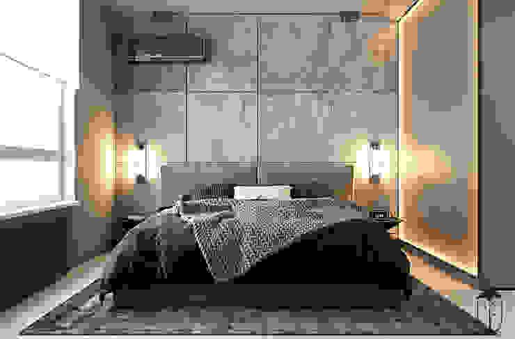 :  Спальня вiд U-Style design studio, Мінімалістичний