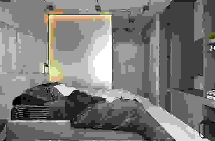 Minimalist bedroom by YOUSUPOVA Minimalist