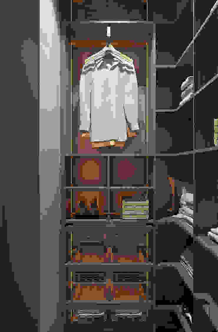 Minimalist dressing room by YOUSUPOVA Minimalist