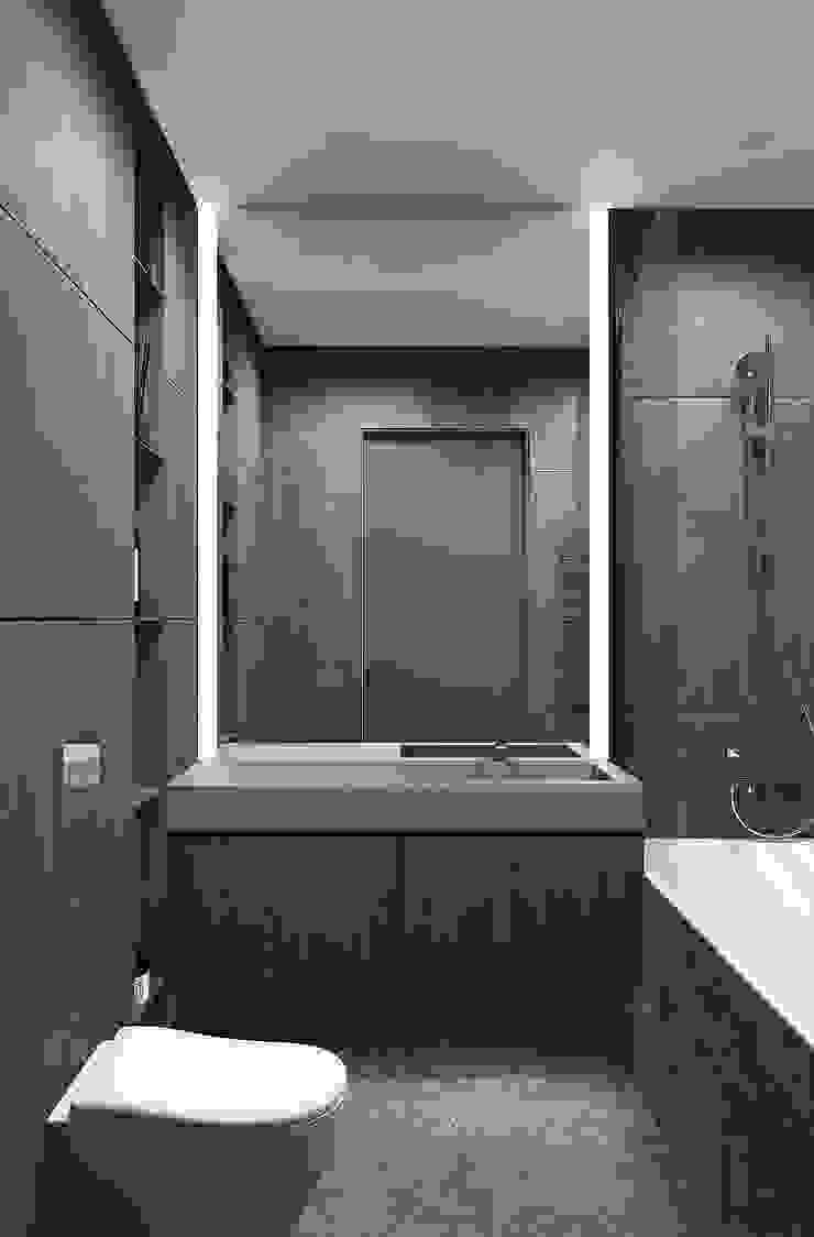 Minimalist style bathroom by YOUSUPOVA Minimalist