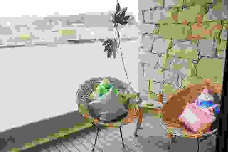 de Tangerinas e Pêssegos - Design de Interiores & Decoração no Porto Mediterráneo Piedra
