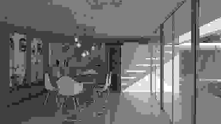 Salle à manger scandinave par MOD | Arquitectura Scandinave Béton