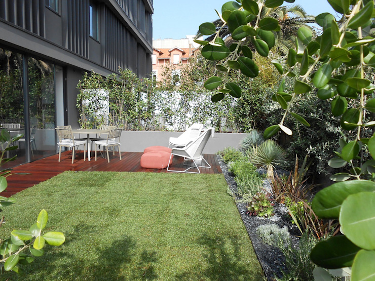 Jardines de estilo moderno de Tangerinas e Pêssegos - Design de Interiores & Decoração no Porto Moderno