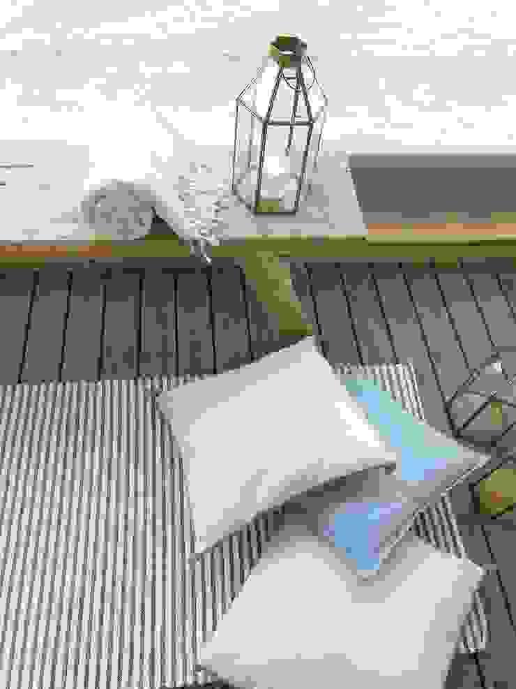 de Tangerinas e Pêssegos - Design de Interiores & Decoração no Porto Mediterráneo Madera Acabado en madera
