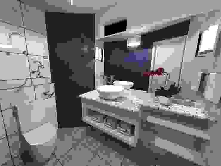 Salle de bain minimaliste par Disarc Arquitectos Minimaliste Marbre