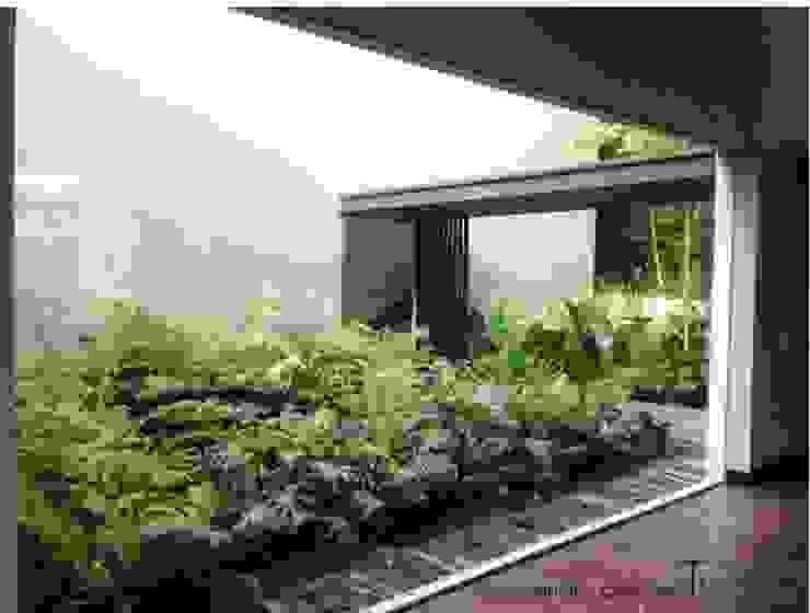 RESIDENCIAL | CASA UNIFAMILIAR 213 BOSQUES DE SANTA FE de Tk arquitectura Moderno