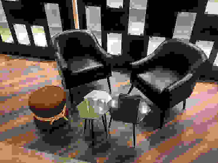AU Lab Modern style study/office Black