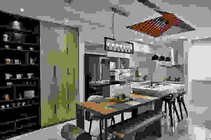 餐廚 Modern kitchen by 安提阿設計有限公司 Modern