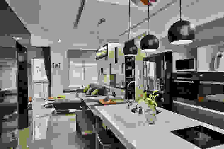主客餐廳 Modern dining room by 安提阿設計有限公司 Modern