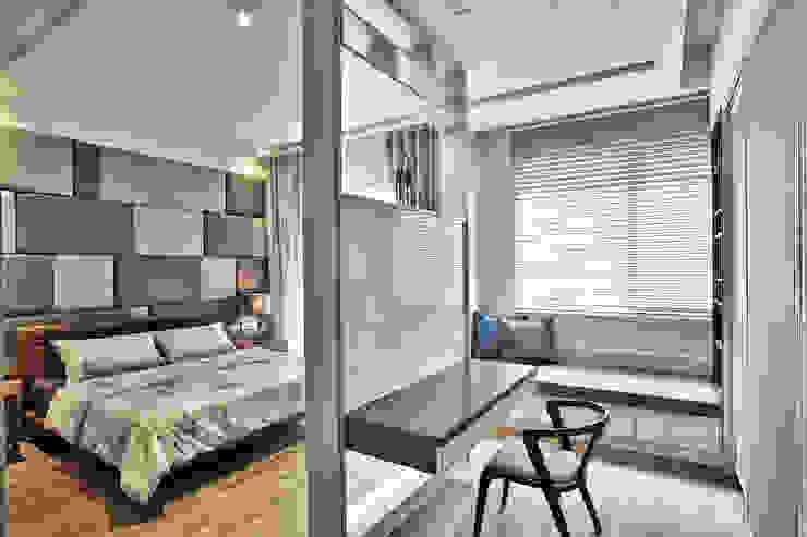 主臥房 Modern style bedroom by 安提阿設計有限公司 Modern