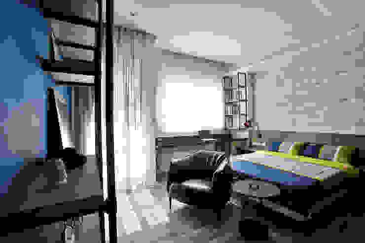 臥室 根據 安提阿設計有限公司 工業風
