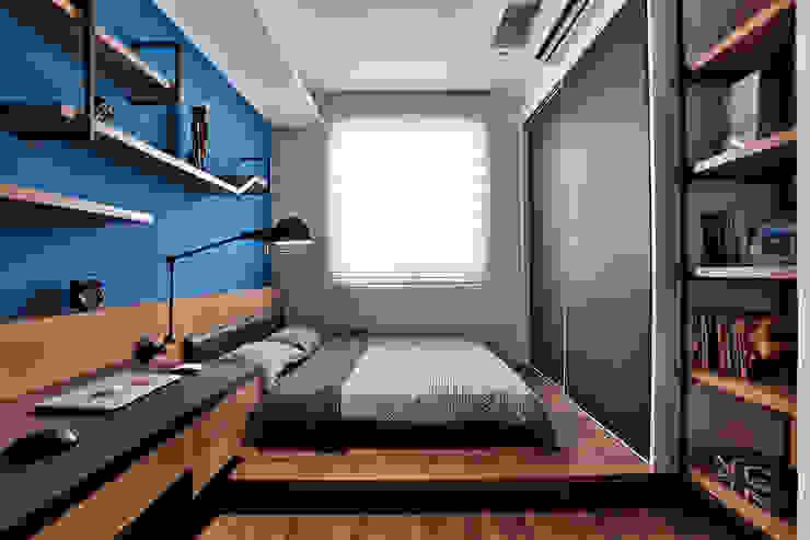 臥室 by 安提阿設計有限公司 Industrial