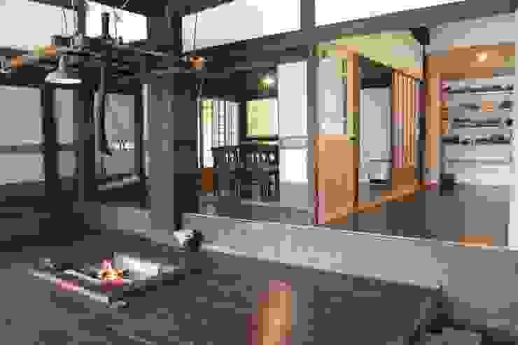 大出設計工房 OHDE ARCHITECT STUDIO Asian style dining room